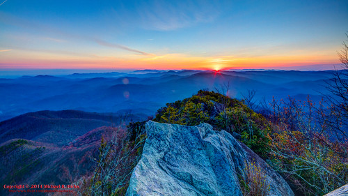 usa sunrise landscape geotagged spring unitedstates hiking tennessee hdr cosby greatsmokymountainsnationalpark gsmnp photomatix crestmont sigma1020mmf456exdc mountcammerer canon7d nashvillehikingmeetup catonsgrove geo:lat=3576358410 geo:lon=8316128197