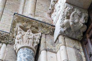 Porte Miègeville (c. 1115) basilique Saint-Sernin de Toulouse (Haute-Garonne, France)
