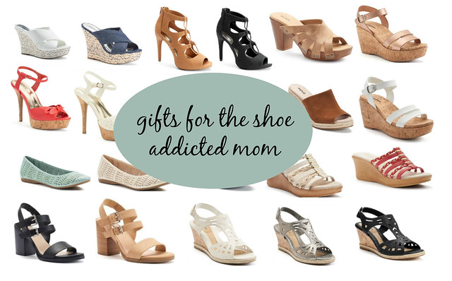 gifts from kohl's for the shoe addicted mom