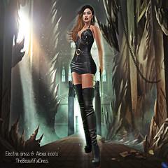 Electra dress & Alexia boots