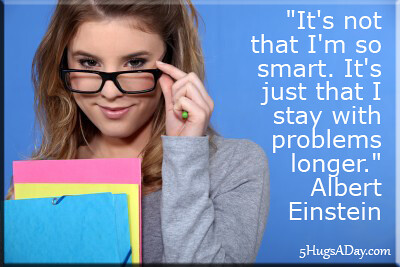 It's Not That I'm So Smart… via @deborahinfo | 5HugsADay.com