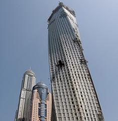 L'Infinity tour à la Dubai Marina.