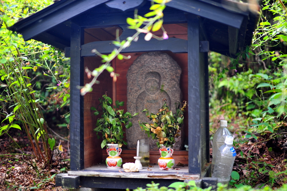 Small shrine along the way
