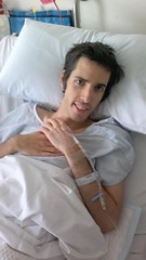 Me post surgery