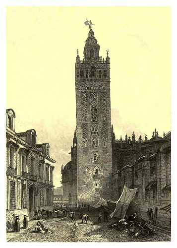 021-La Giralda de Sevilla-Finden's illustrations of the life and works of Lord Byron…1833-William y Edward Finden