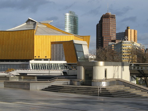 Philharmonie, Berlin-Tiergarten (Hans Scharoun)