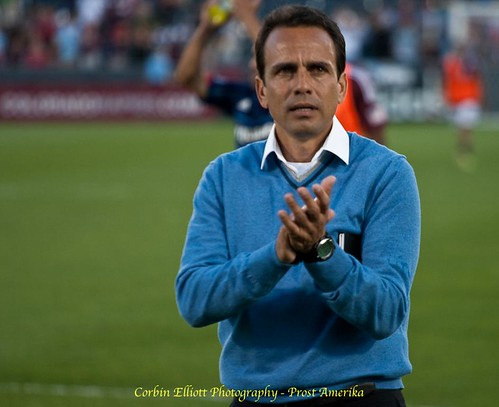 Oscar Pareja Colorado Rapids by Corbin Elliott Photography, denver photographer