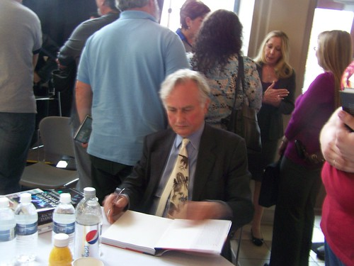 apr 025 Dawkins book signing