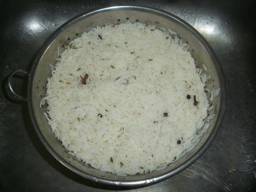 how to cook sella rice for biryani
