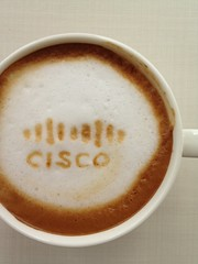 Today's latte, Cisco Systems.