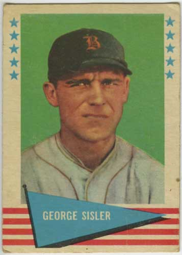 1961 Fleer George Sisler