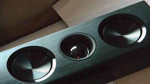 Speaker Closeup LG LSB316 Sound Bar