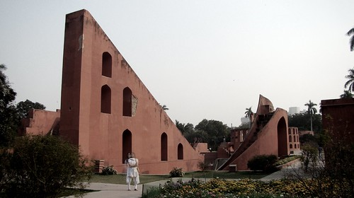 Delhi India ~ Mantan Jantan Observatory by Vasenka