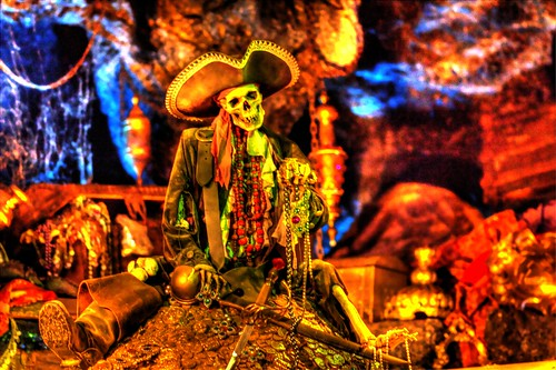 A Pirate and His Gold-HDR