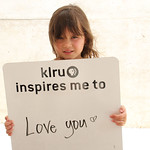KLRU inspires me to ... love you