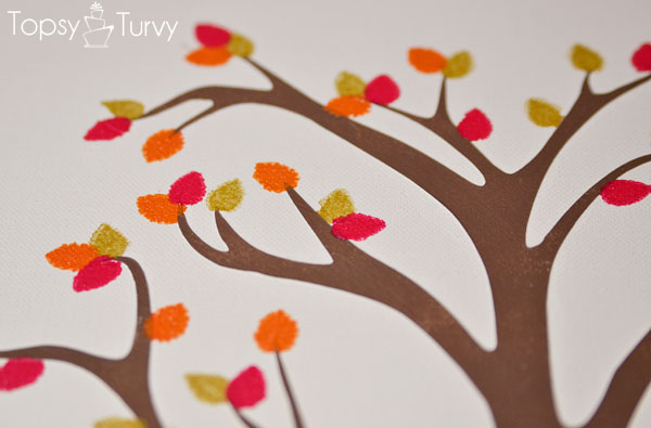 family-tree-mothers-day-plaid-crafts-mulit-colored-leaves