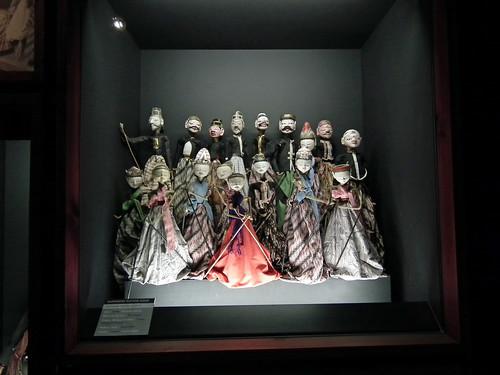 Indonesian Puppets at Museu da Marioneta (Puppet Museum), Lisboa. (Lisbon. 2011)