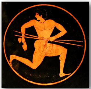 Ancient Greek pottery decoration 24