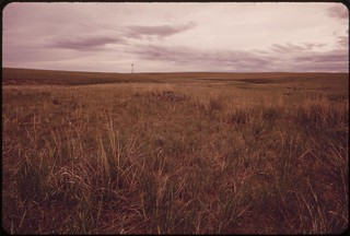 This ranch in the Powder River Basin is threatened by plans for massive strip-mining operations, 06/1973