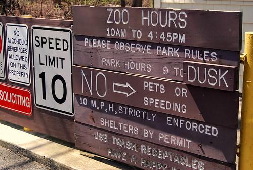 Zoo - Hours