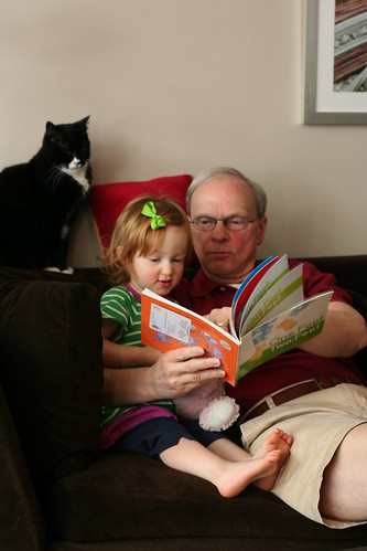 """You want Granddad to read it!"""