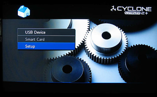 SumVision Cyclone Micro 2+ HD Media Player startup screen