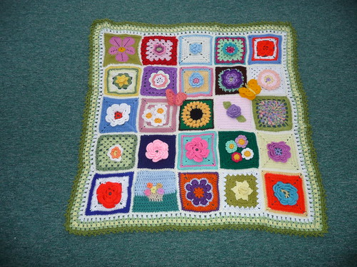Thanks to everyone who contributed Squares for this special Blanket for 'Emmerdale' TV programme.