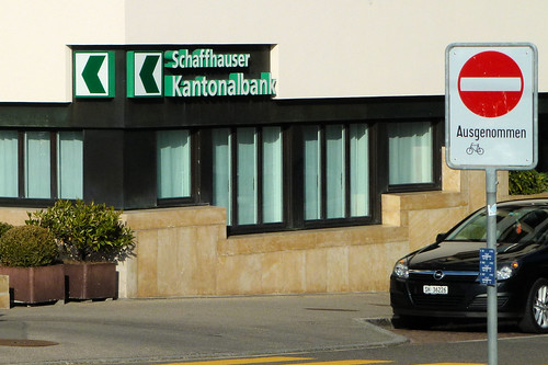 1. Mai 2012 18:08 Uhr grün für die Schaffhauser Kantonalbank