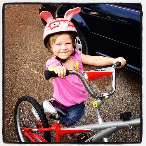 Sadie Piper first ride
