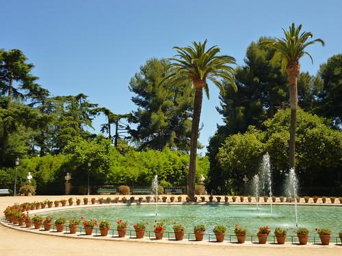 Fountain in Palau de Pedralbes