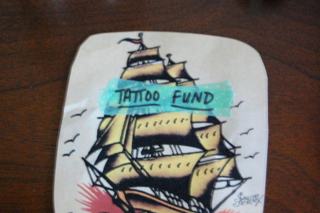 DIY • tattoo fund jar.