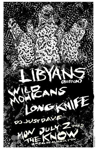 7/2/12 Libyans/WildMohicans/LongKnife