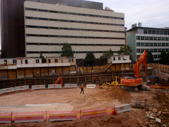 UTS excavation