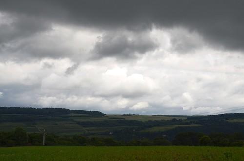 rain day skies wasserbillig luxemburgcountryside