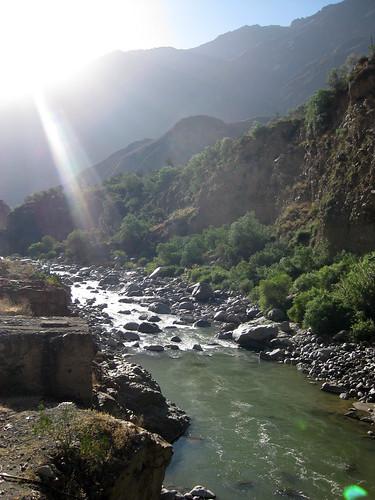 The Colca River - Peru