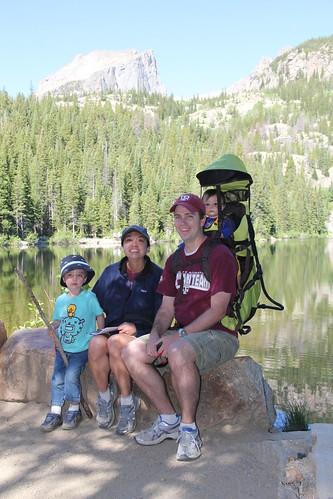 Family picture - Bear Lake, RMNP