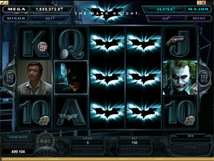 The Dark Knight slot game online review