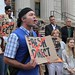 Steps of Bronx Borough Hall Boycott Fresh Direct