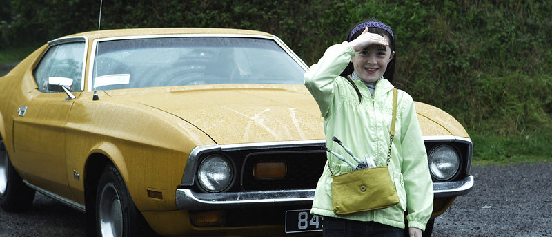 10. Hailey Egan (Ellen Phelan) in front of Ford Mustang (provided by Jerry Hyde)