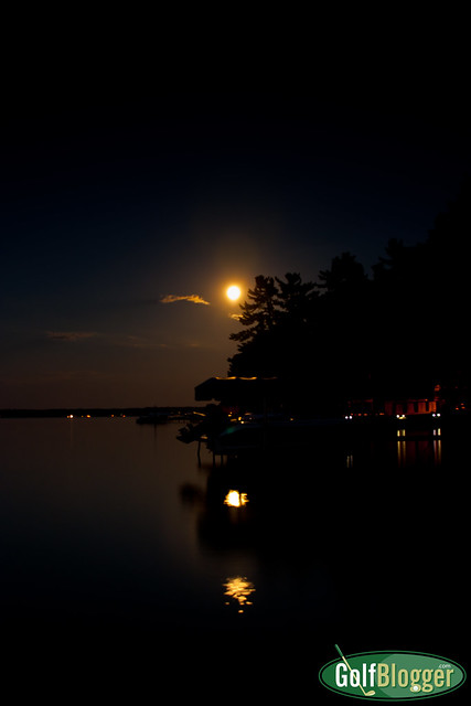 Mullett Lake In The Moonlight