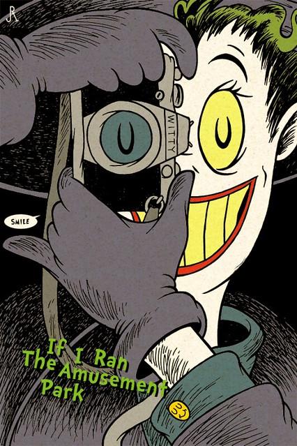 Dr. Seuss Batman Coringa