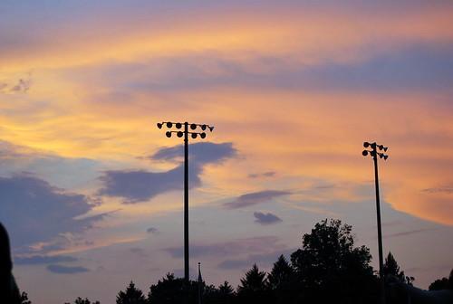4th - sunset