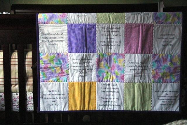 briannes quilt wrinkled