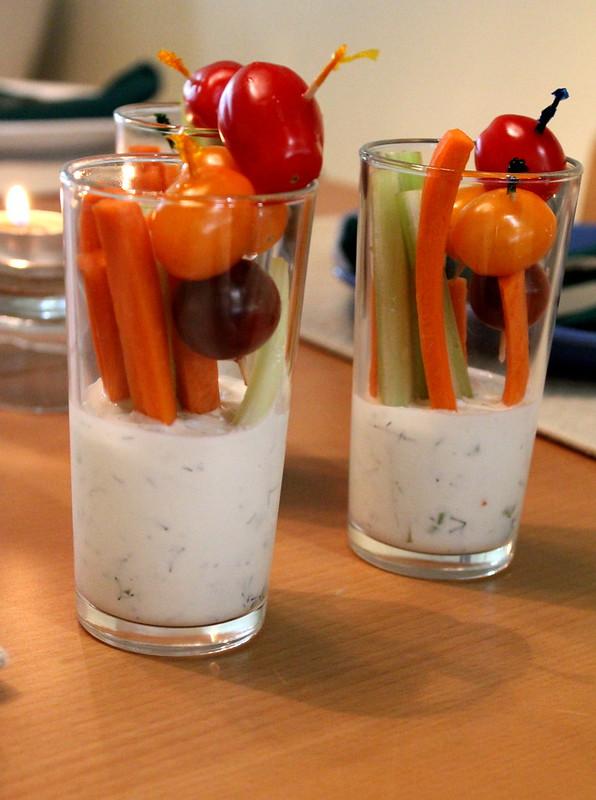 veggie and dip