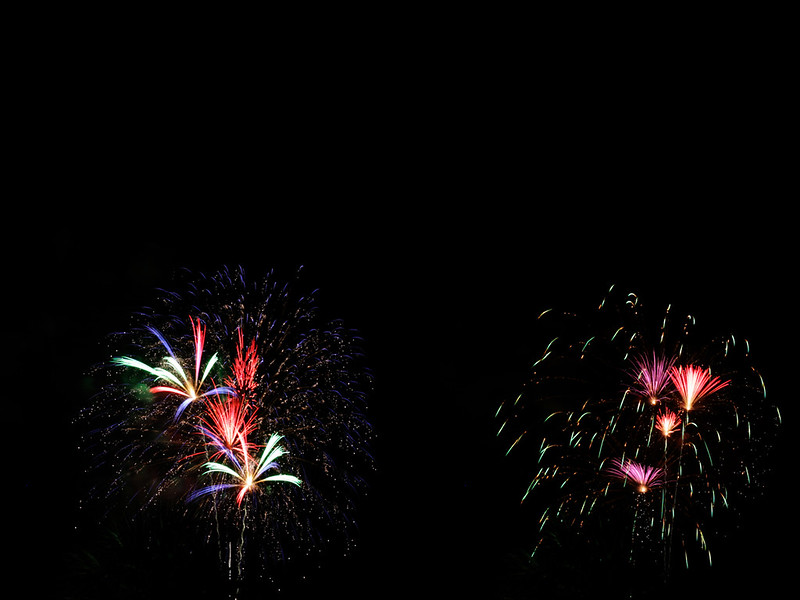Fourth of July 19 diptych