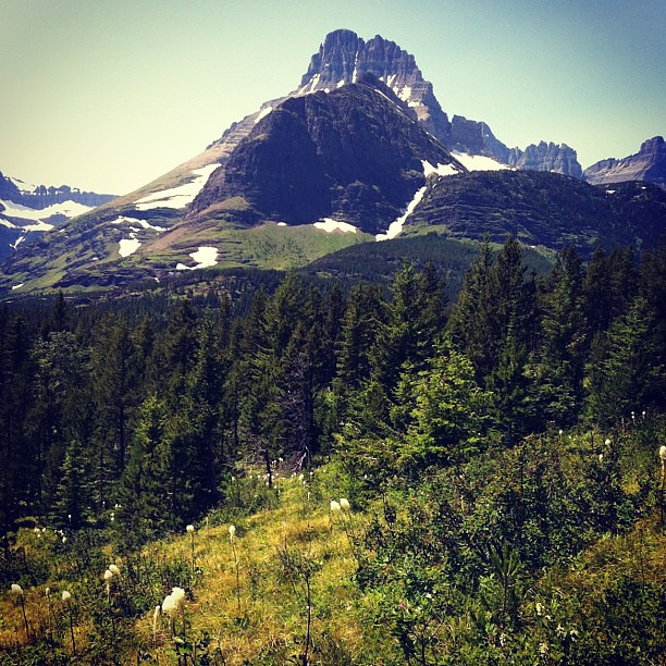 The west side of Glacier National Park