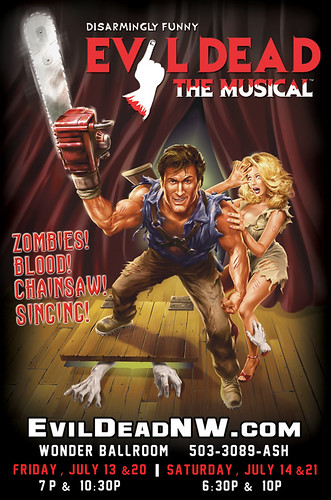 Evil Dead: The Musical @ Wonder Ballroom