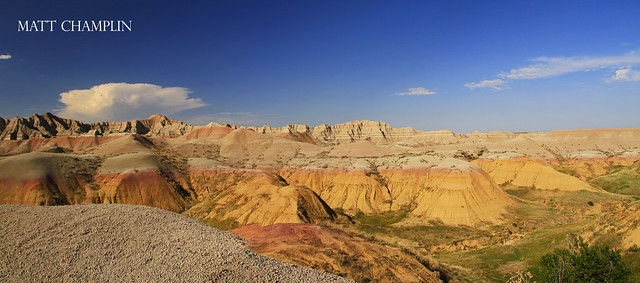 Yellow Hills - Badlands National Park