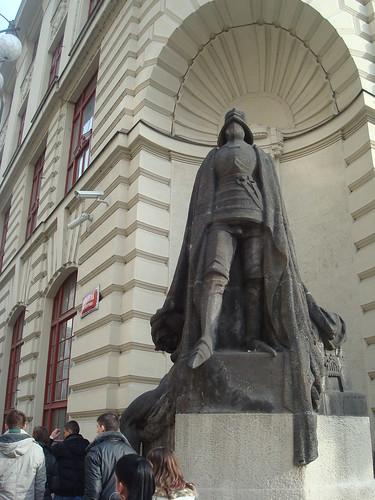 The Golem statue, Prague