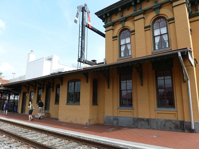 Gettysburg train station